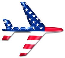 flugzeug usa airplane united states