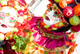a woman in costume at the venice carnival (3) poster