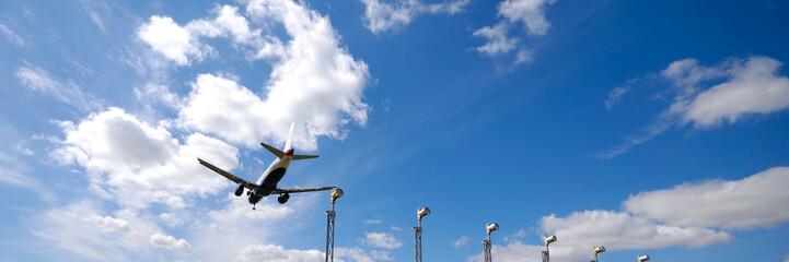 plane near airport