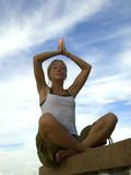yoga prayer poster