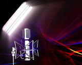receiving sound waves in the spotlight poster