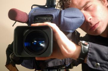 reportero grafico autoretrato