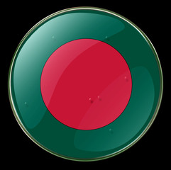 bangladesh flag button