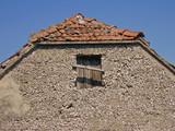 dalmatian village house poster