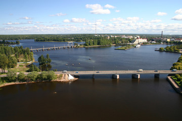 panorama of vyborg