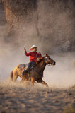 cowboy in action poster