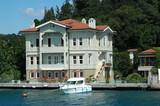 historische villa in istanbul - bosporus poster