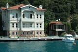 historische villa am bosporus poster