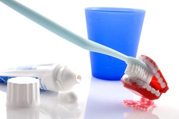 teeth brushing