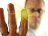 fingerprint explosion poster