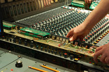mixing console repair poster