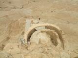 Ruins in Massada in Israel poster