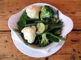 food. side dish of vegetables. nutrition poster