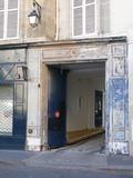 façade du quartier latin. poster