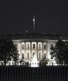 white house at night - Fine Art prints