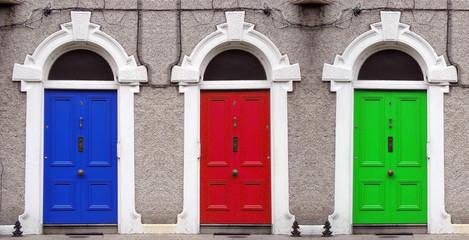 porte colorate