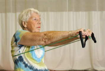 senior health and fitness upper body workout