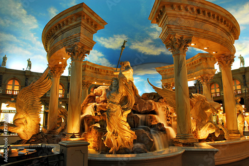 Staande foto Fontaine caesars palace 2