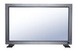 modern flat tv poster