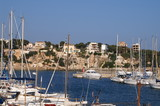port de plaisance de porto cristo aux baléares poster