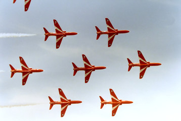 red jets