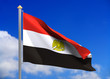 egypt flag (include clipping path)