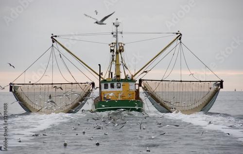 Leinwanddruck Bild boat