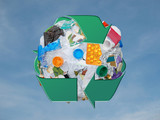 recycle sphere poster
