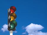 Fototapety traffic lights