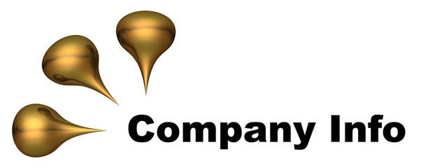 logo gold drops