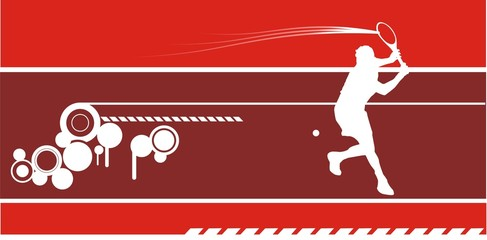composicion jugador de tenis
