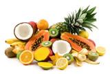 Fototapety tropical fruits