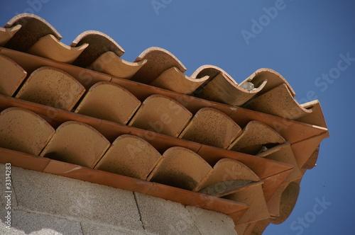 papier peint g noise de toiture tuile toit. Black Bedroom Furniture Sets. Home Design Ideas