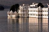 india, udaipur: lake palace poster