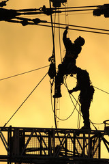 silhouette workers 01