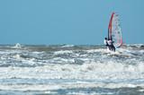 tandem windsurfing poster