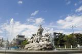 cibeles fountain at 160 degrees angle poster