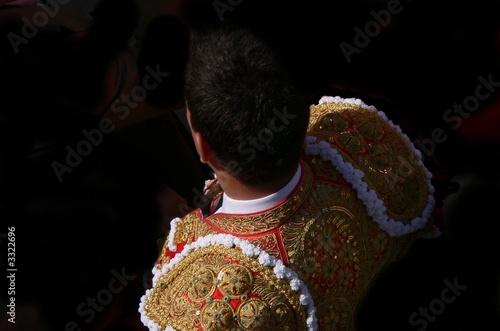 Staande foto Stierenvechten costume