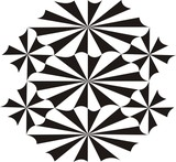 abstract geometrical pattern poster