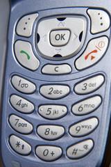 Closeup of cellphone