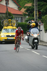 tete de course cycliste