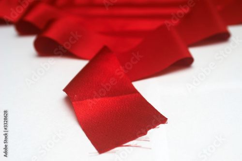 red ribbon x