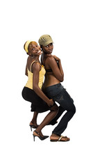 african girls couple