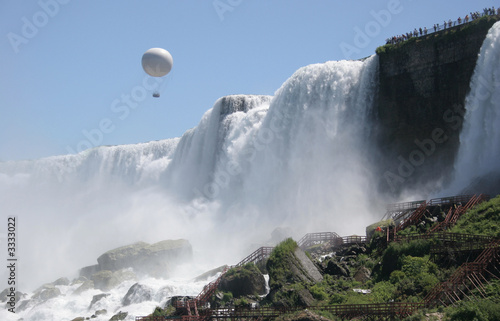 balloon ride over bridal veil falls