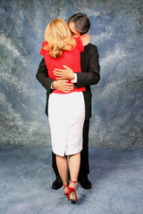 full length red hot hug