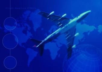 world travel flying