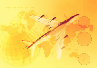 world travel flying technology