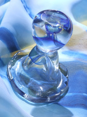 vidro azul