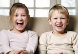 laughing kids poster