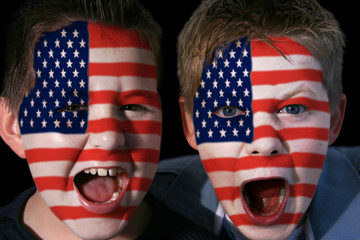 young american football fans